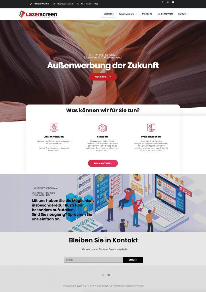 website-lazerscreen