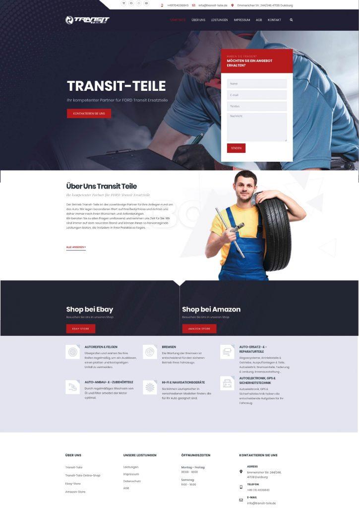 Transit-Teile